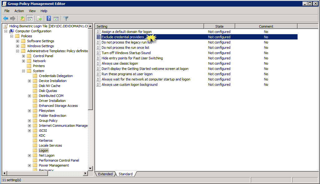Duplicate login tiles may occur with the EmpowerID Credential