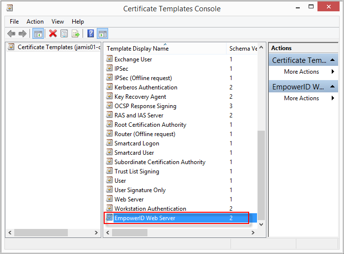 Requesting a sha 256 certificate for empowerid using active requesting a sha 256 certificate for empowerid using active directory certificate services knowledge base yadclub Image collections
