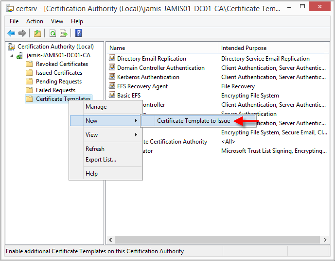 Requesting a sha 256 certificate for empowerid using active in the certification authority tree on the left hand side right click on certificate templates and choose new certificate template to issue yadclub Image collections